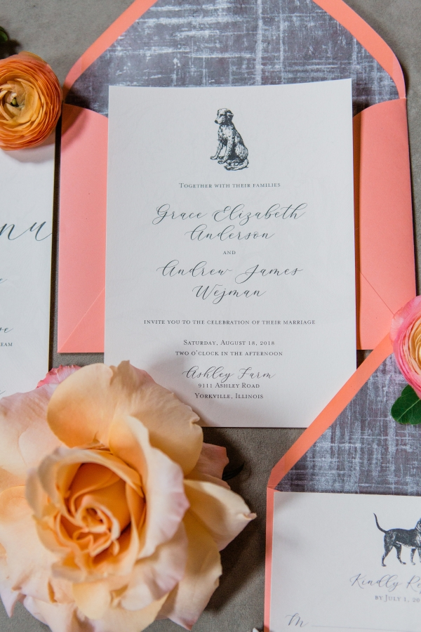 Wedding Invitations with Dogs