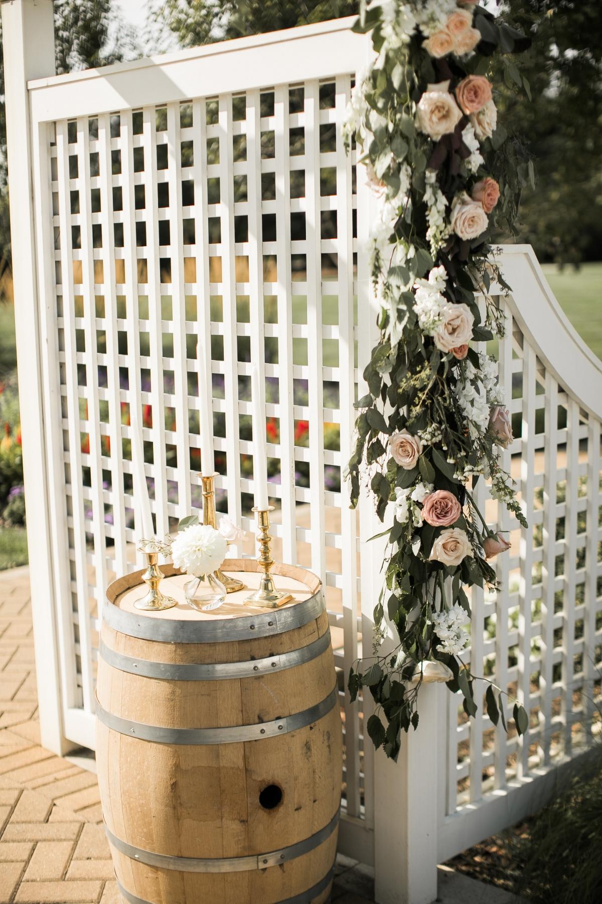 Danada House Chicago Wedding Blush and Borrowed 2