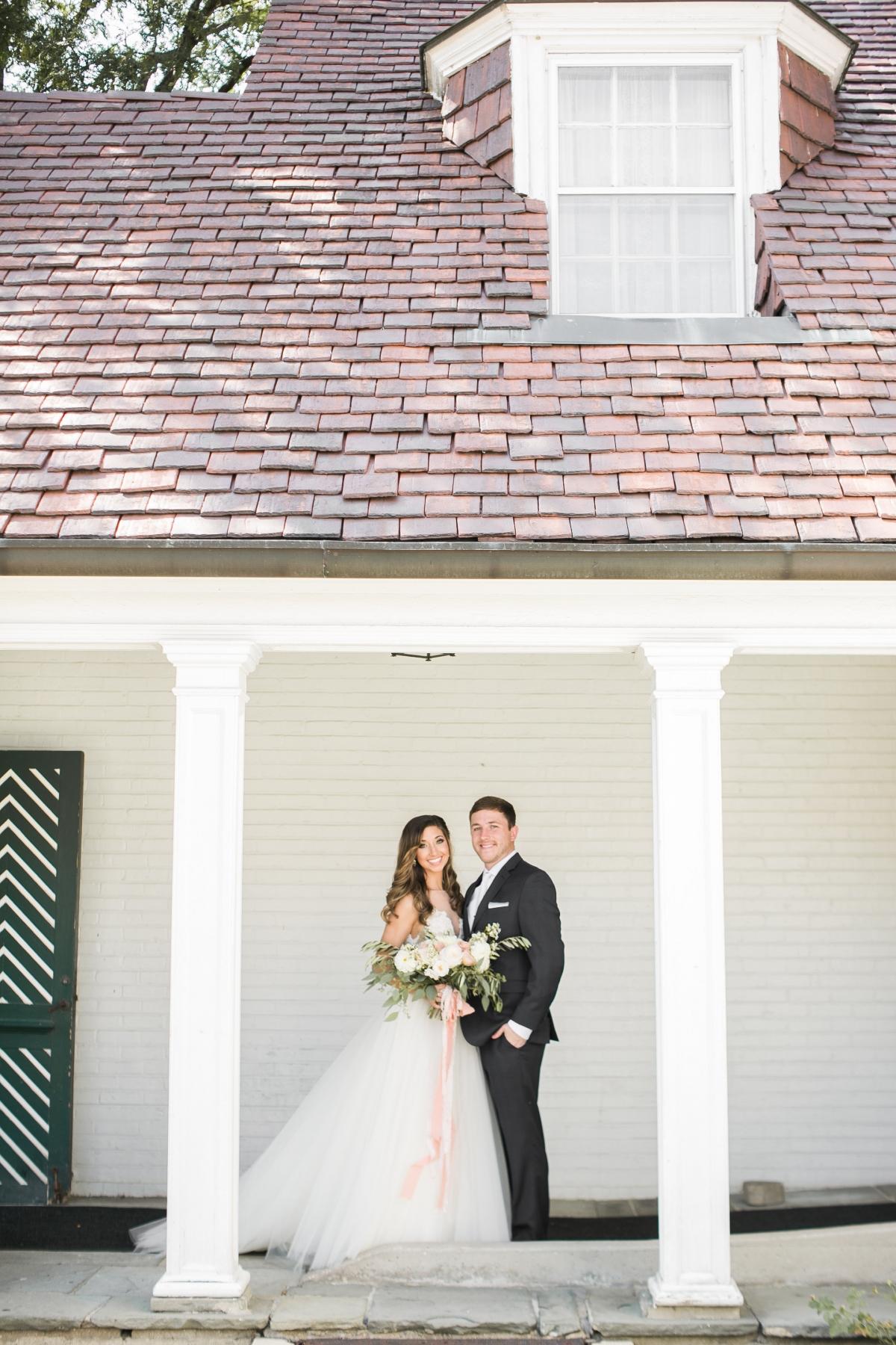 Danada House Chicago Wedding Blush and Borrowed 39