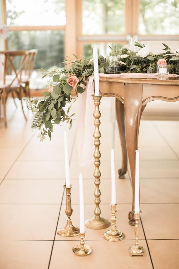 Impressive Blush & Gold Summer Wedding at Danada House