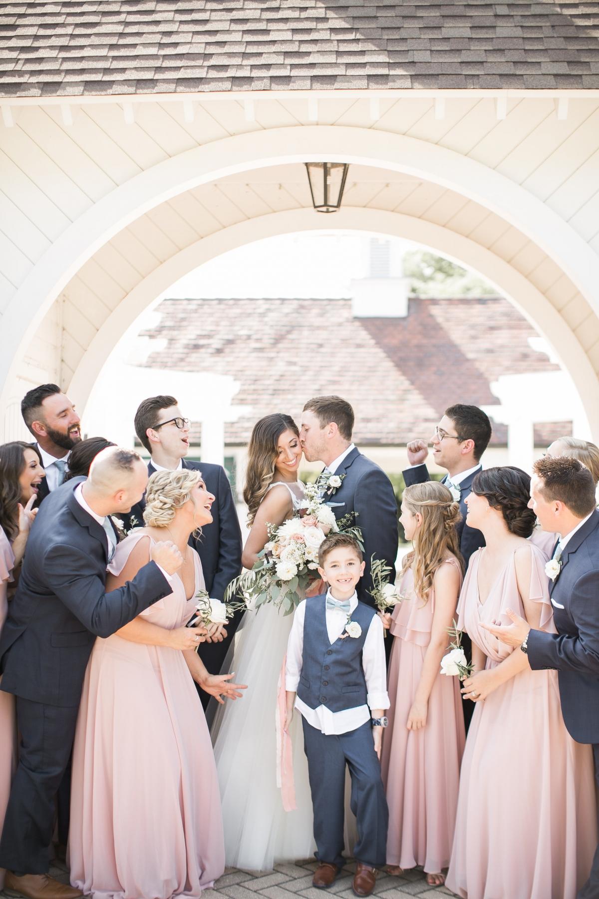 Danada House Chicago Wedding Blush and Borrowed 95