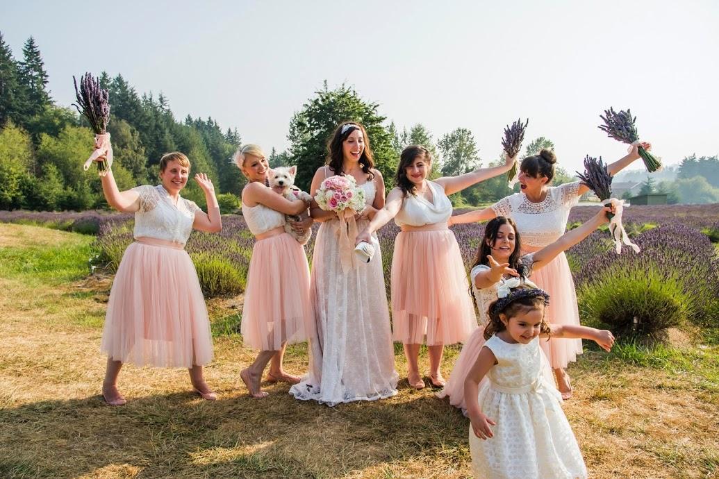 bridesmaidsinpink