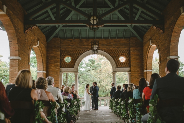 Columbus Park Refectory Chicago Wedding
