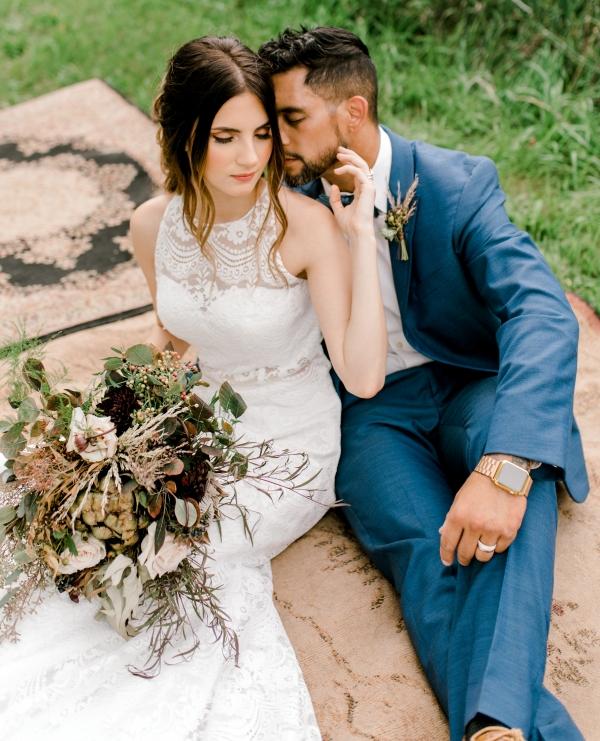 Bohemian Chic Bridal Shoot (56)