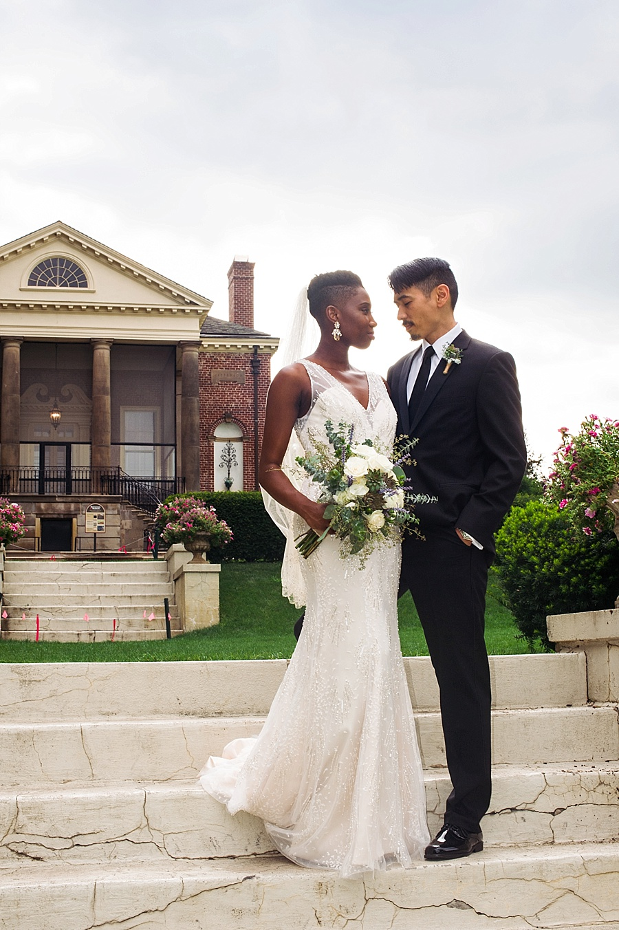 Intimate Wedding at Cantigny Park in Chicago| Events With Ambiance| Amber Sanders| Chicago Wedding Planner