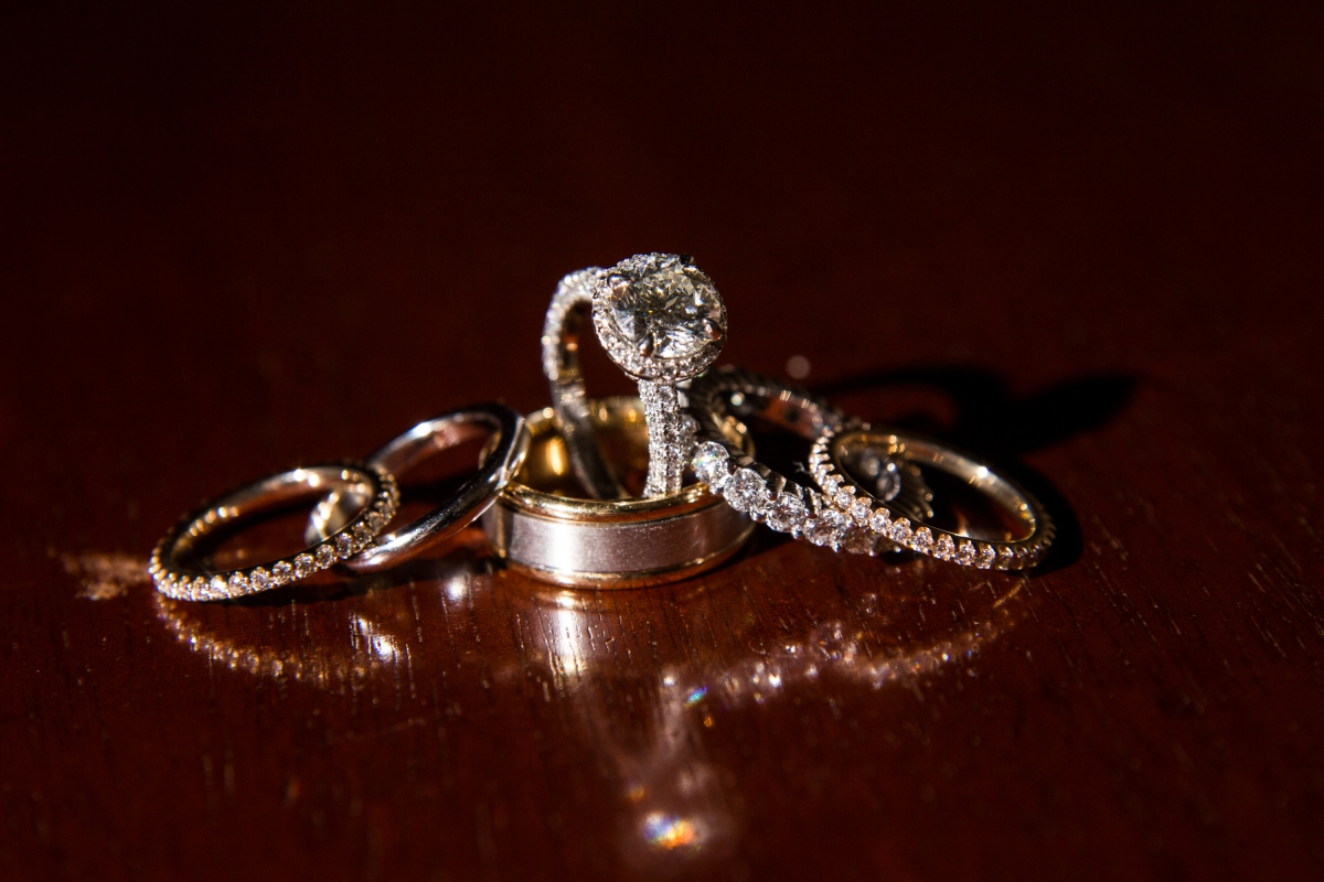 Platinum Wedding Rings from Levy Creations