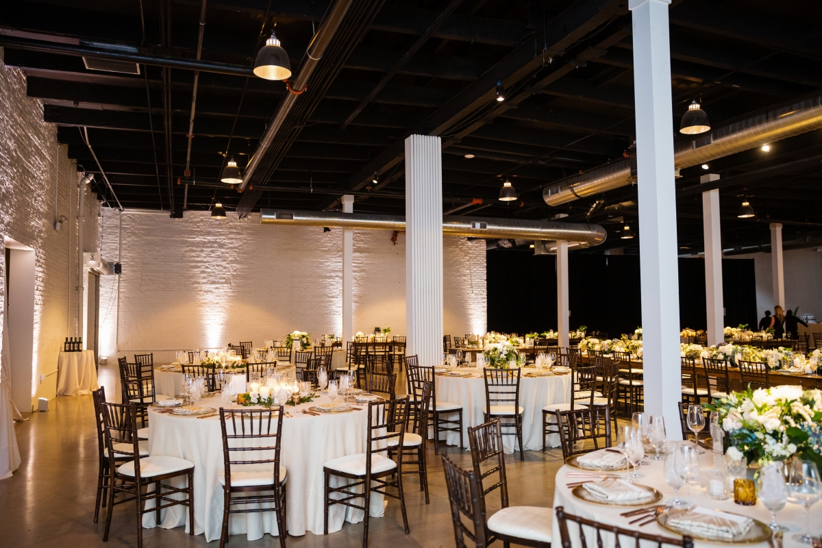 Chicago Industrial Wedding Reception Revel Fulton Market