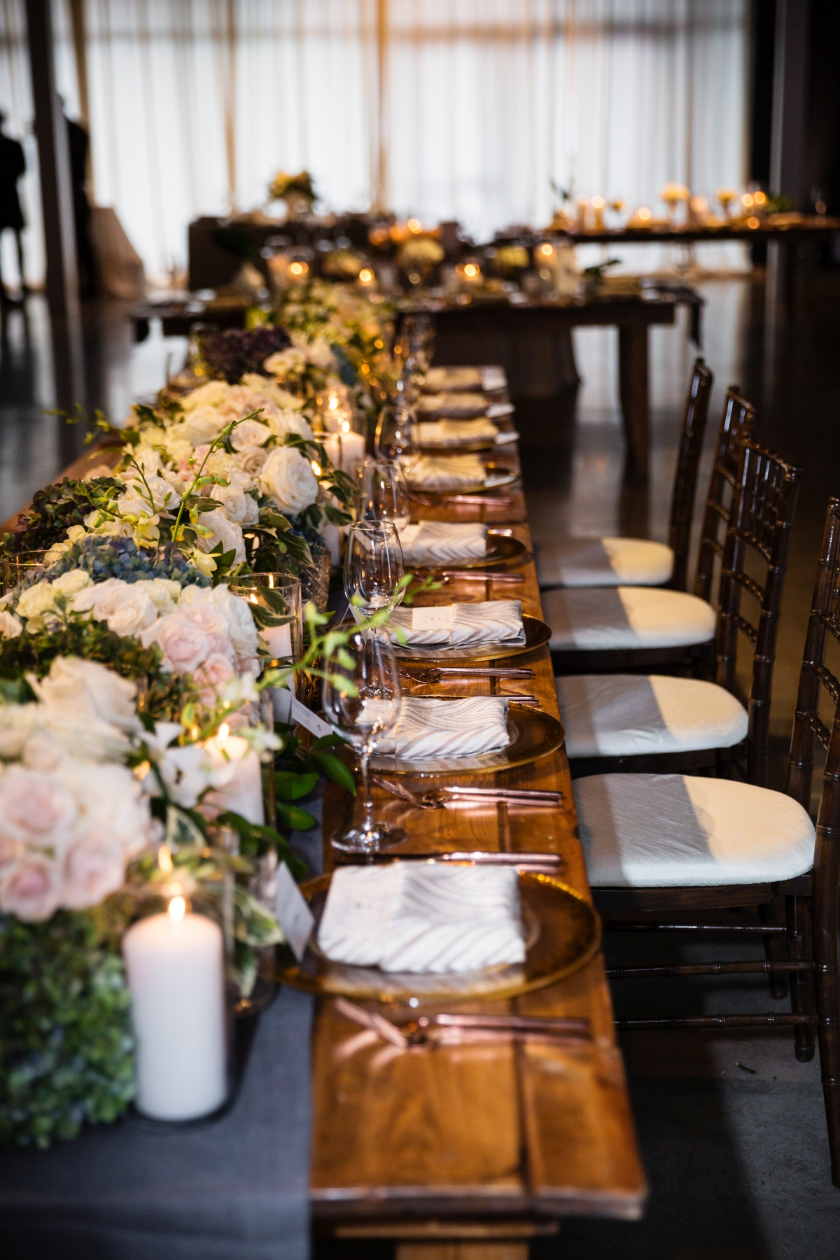 Chicago Industrial Wedding Reception Revel Fulton Market