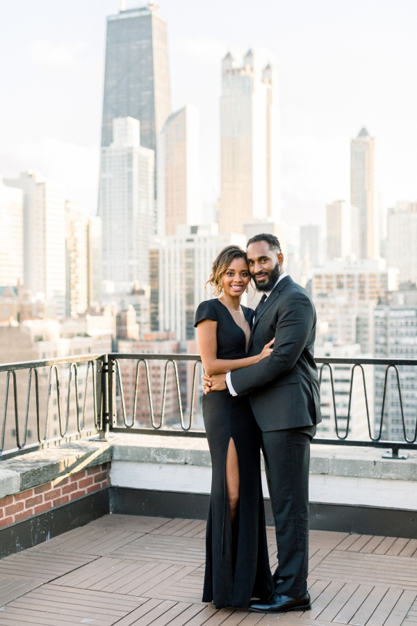 Aisle Society Minted Glam Engagement Session Lisa Hufford (52)
