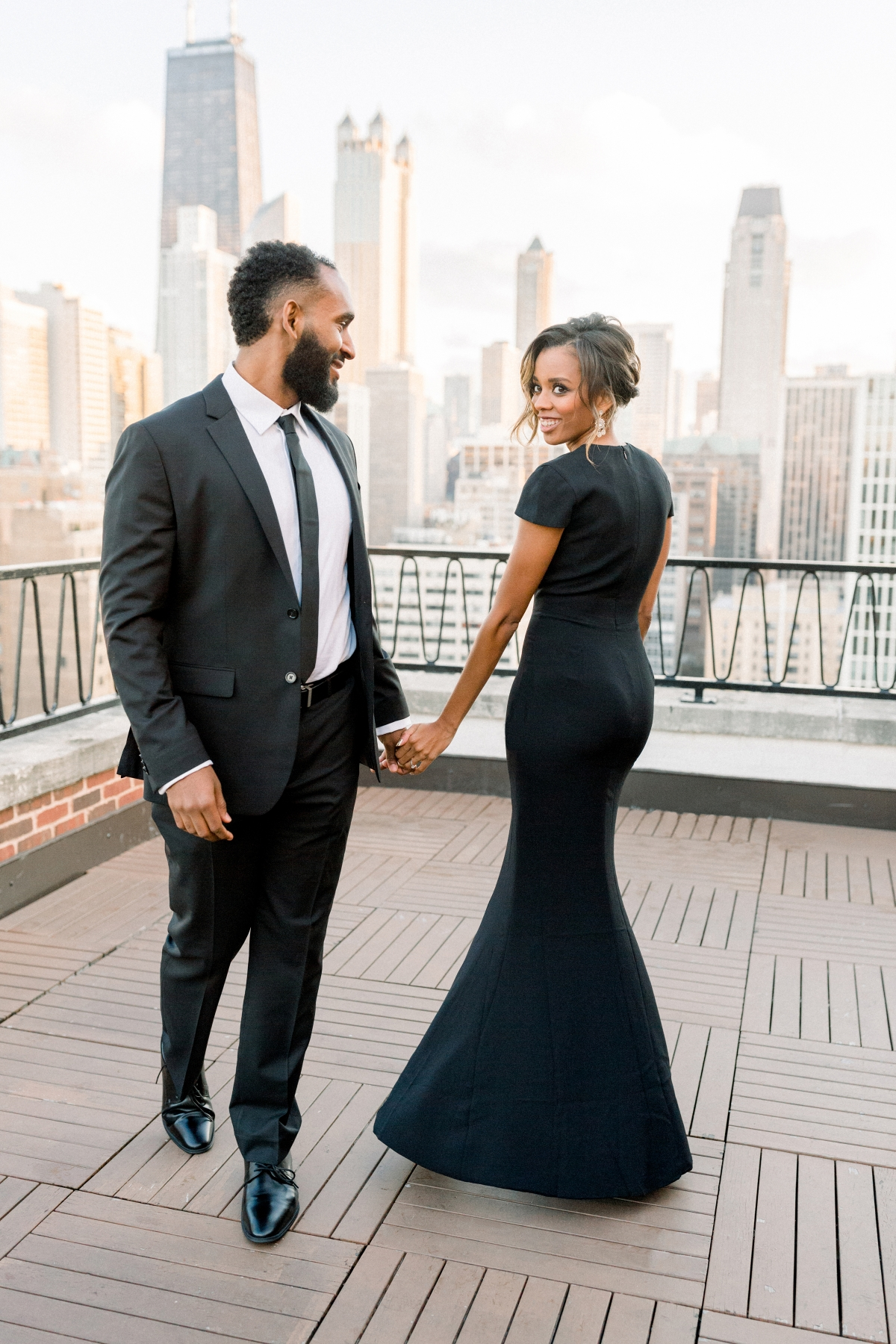 Aisle Society Minted Glam Engagement Session Lisa Hufford 73
