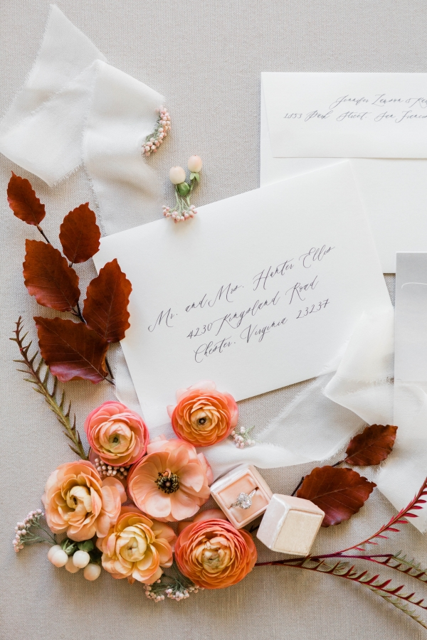 Minted Save the Dates Lakeshore in Love