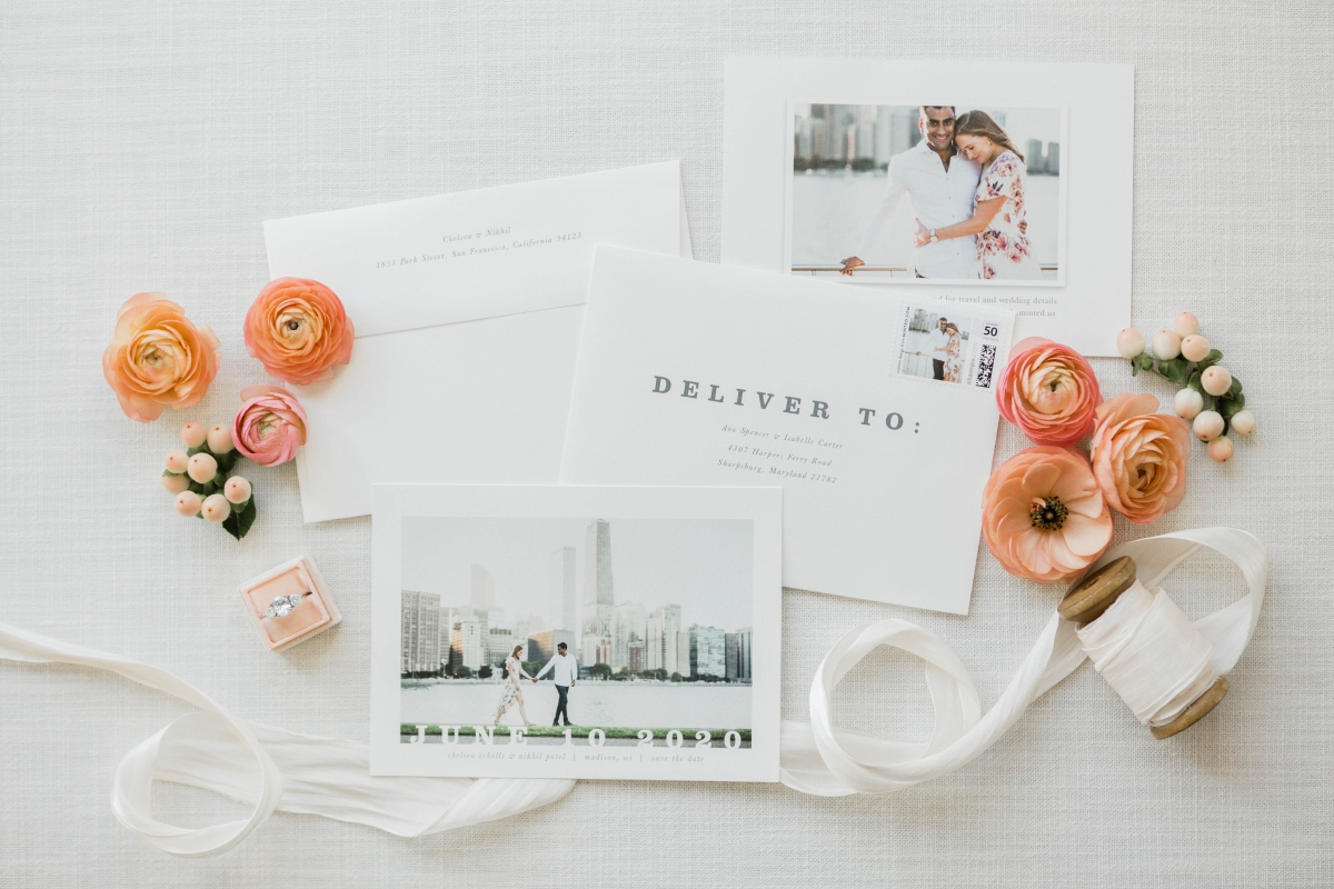 Chicago Minted Save the Dates