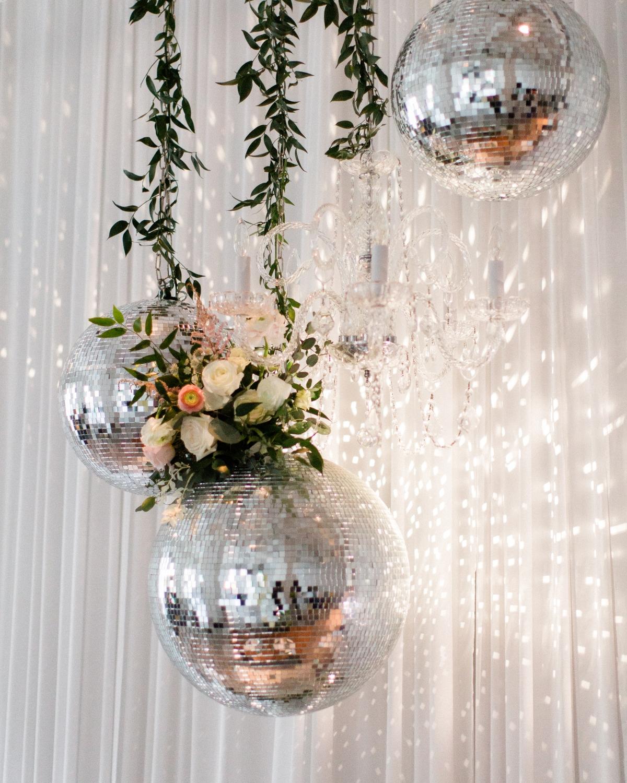 Disco Ball Wedding Decor
