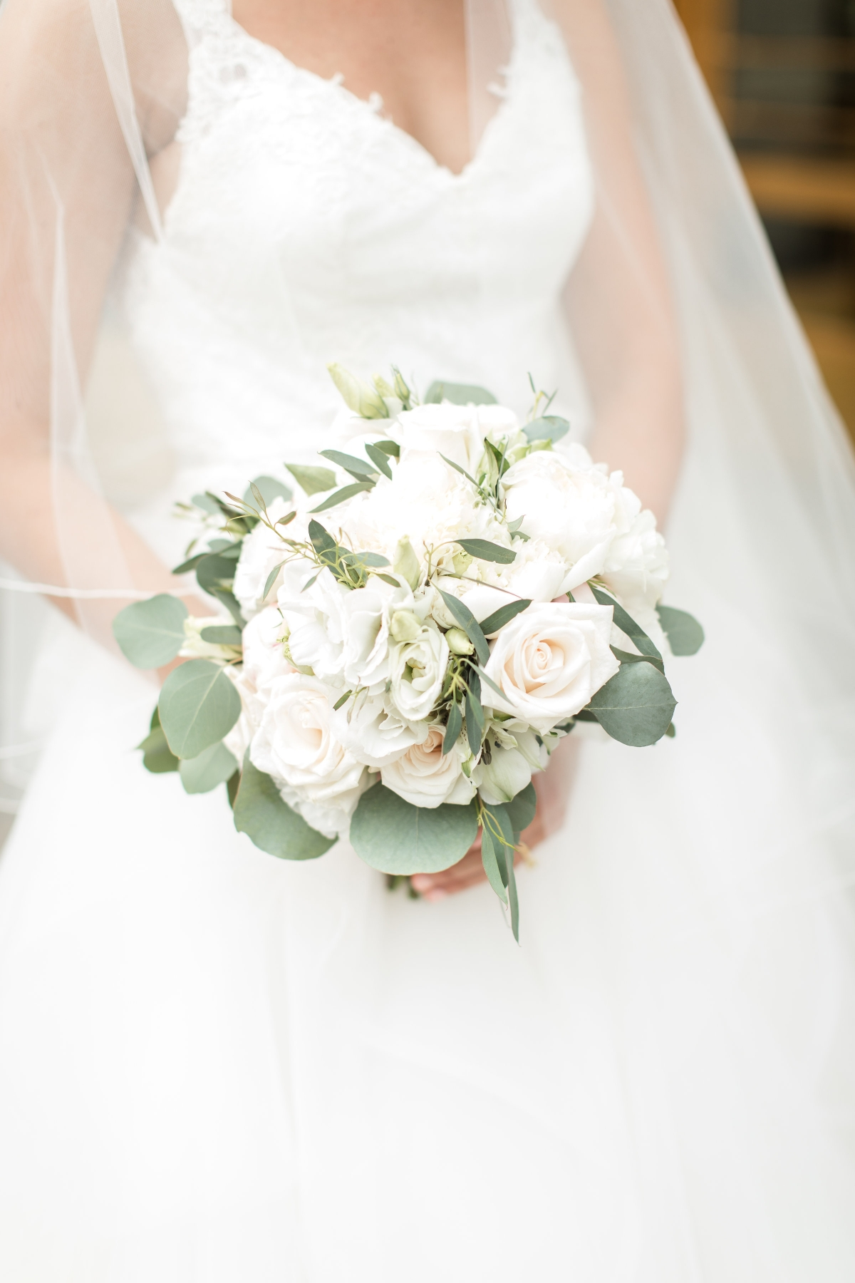 Bride Bouquet Roses