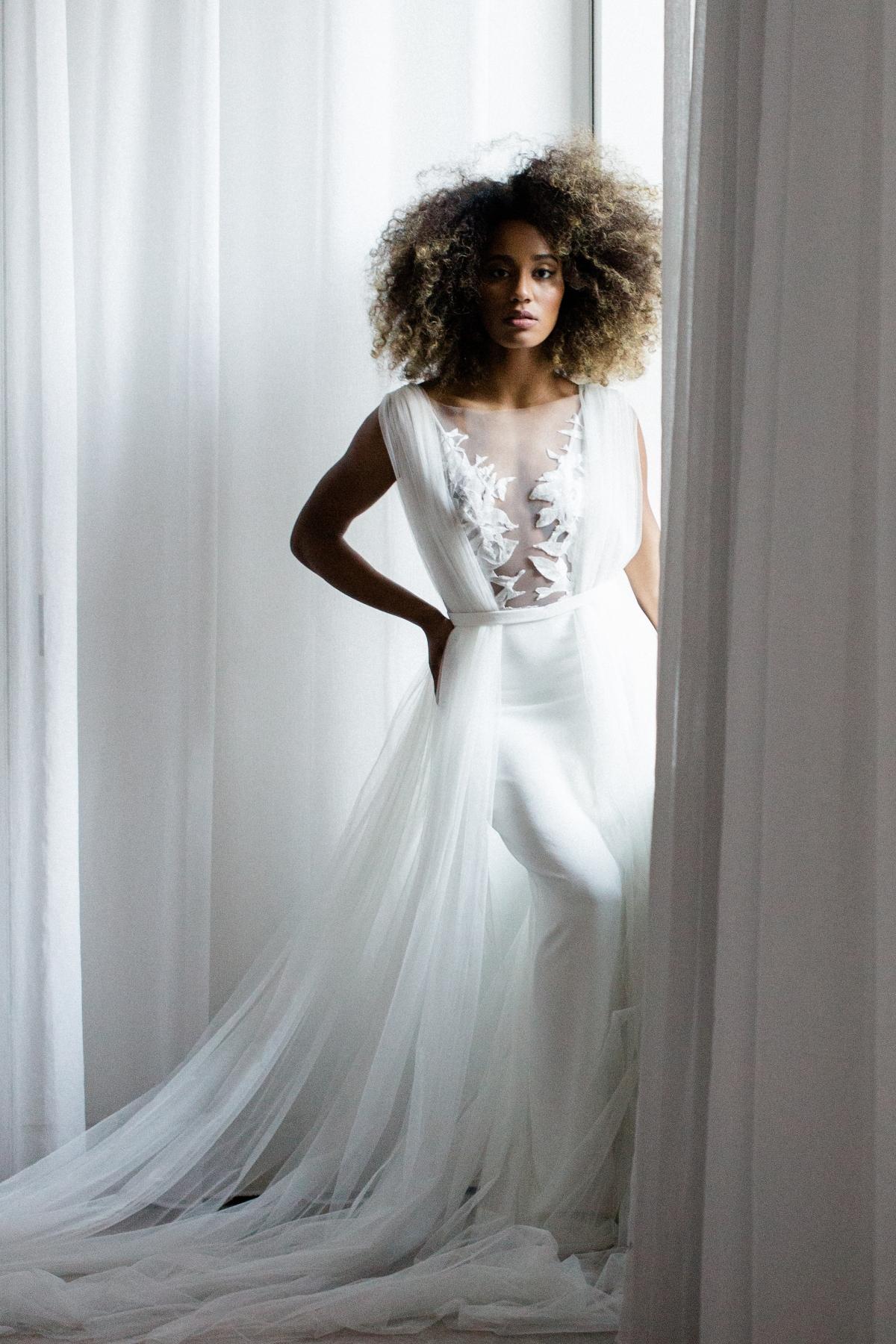 Modern Bride in Varca Bridal 3