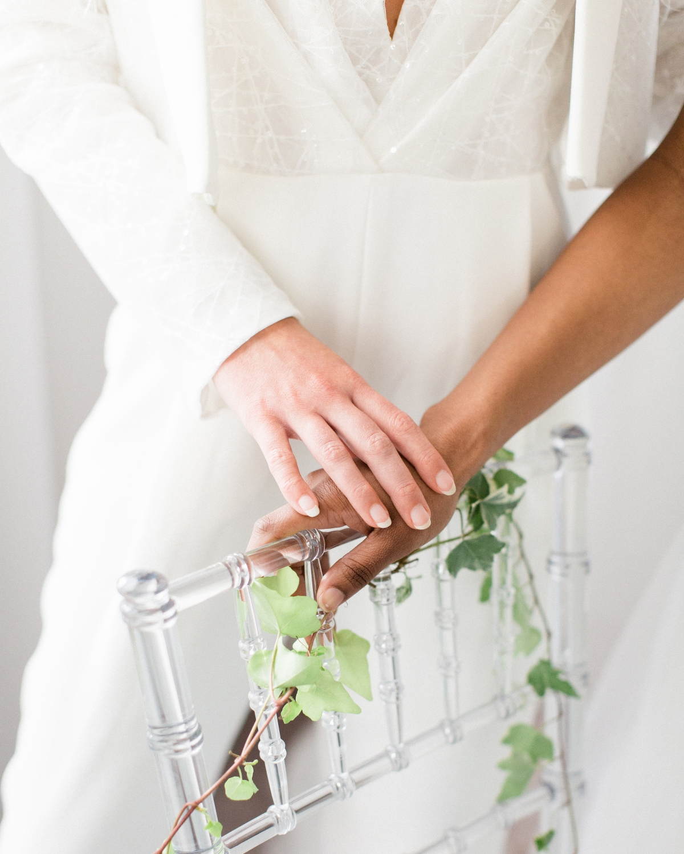 Romantic Modern Chicago Wedding Inspiration Two Brides 2