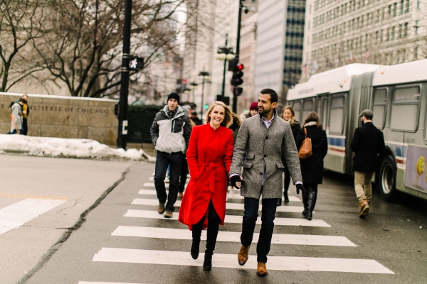 Winter Chicago Skyline Engagement Session Artistrie Co (15)