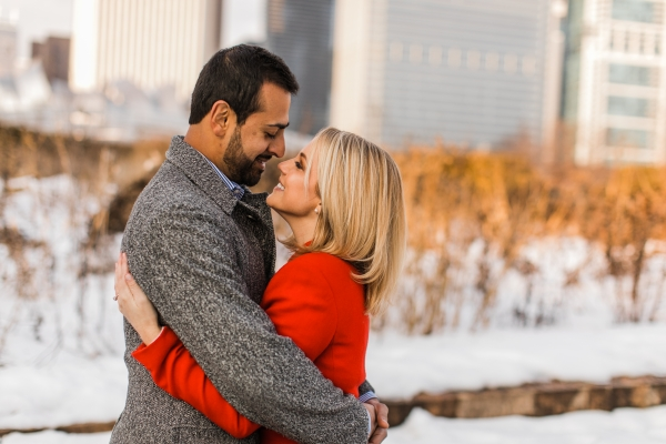 Winter Chicago Skyline Engagement Session Artistrie Co (25)