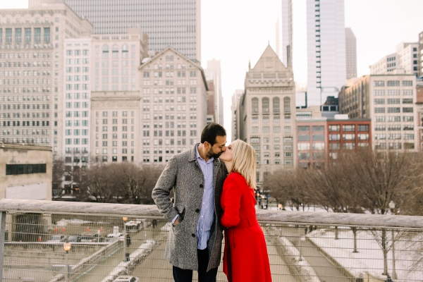 Winter Chicago Skyline Engagement Session Artistrie Co (28)