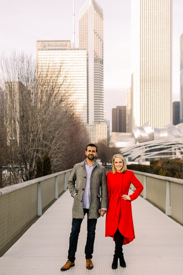 Winter Chicago Skyline Engagement Session Artistrie Co (29)