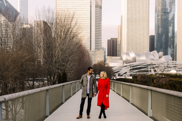 Winter Chicago Skyline Engagement Session Artistrie Co (30)