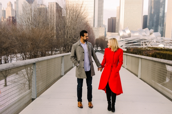 Winter Chicago Skyline Engagement Session Artistrie Co (31)