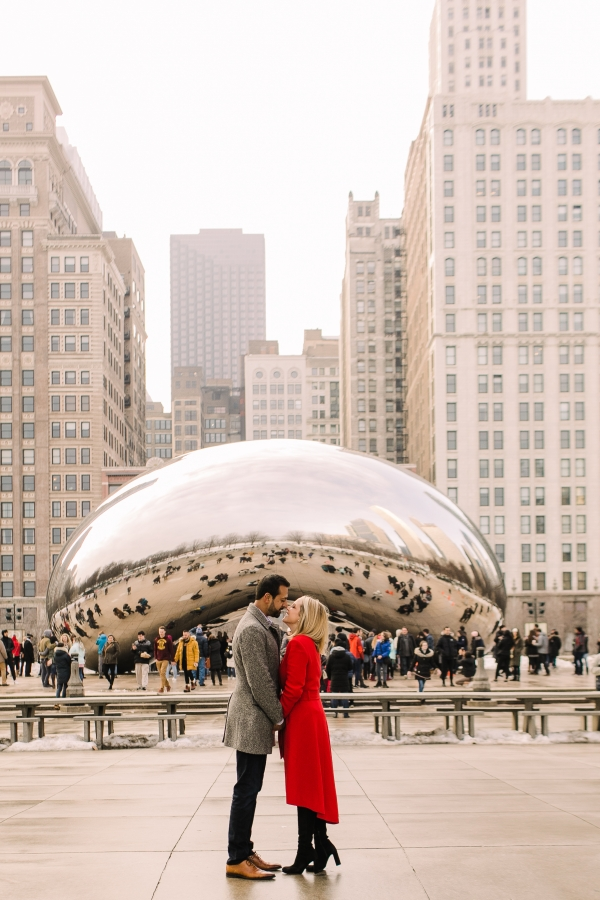 Winter Chicago Skyline Engagement Session Artistrie Co (33)