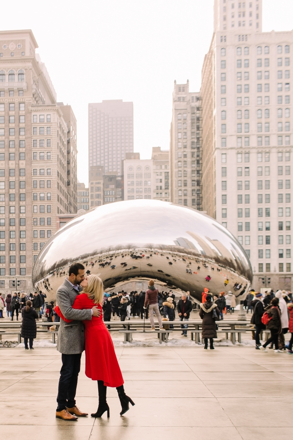 Winter Chicago Skyline Engagement Session Artistrie Co (37)