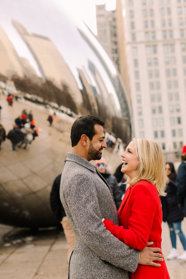 Winter Chicago Skyline Engagement Session Artistrie Co (38)