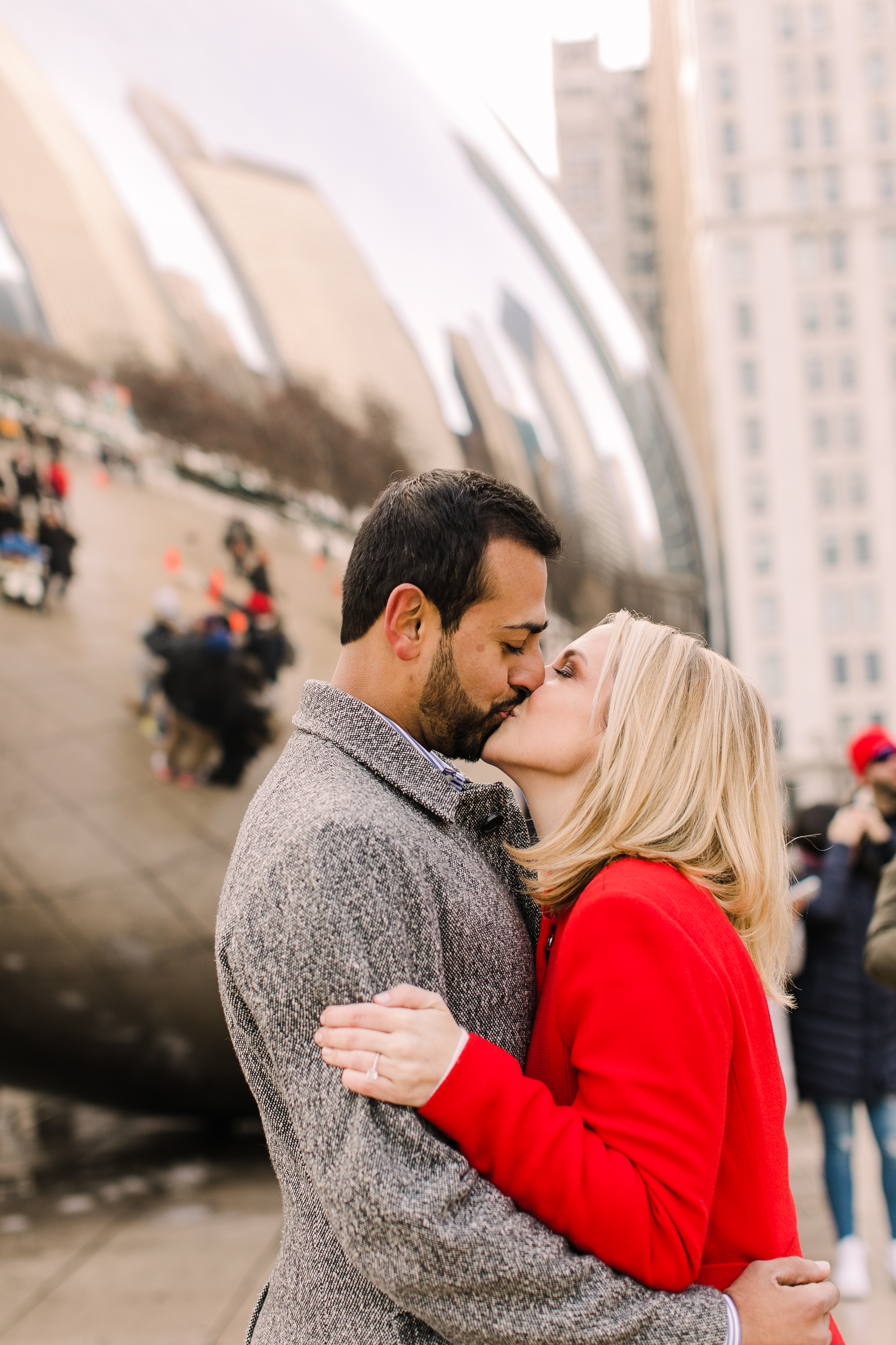 Winter Chicago Skyline Engagement Session Artistrie Co (39)