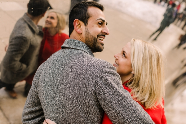 Winter Chicago Skyline Engagement Session Artistrie Co (40)