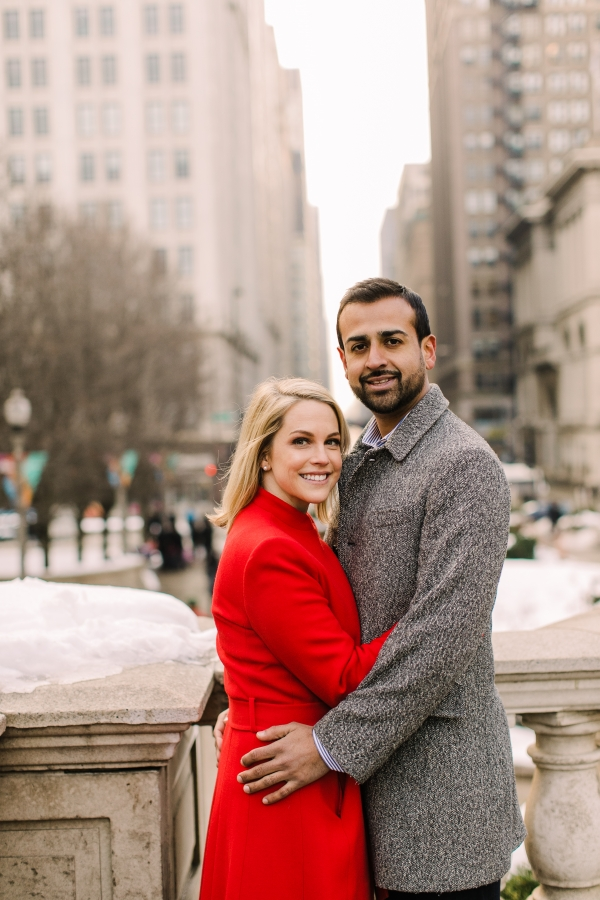 Winter Chicago Skyline Engagement Session Artistrie Co (41)