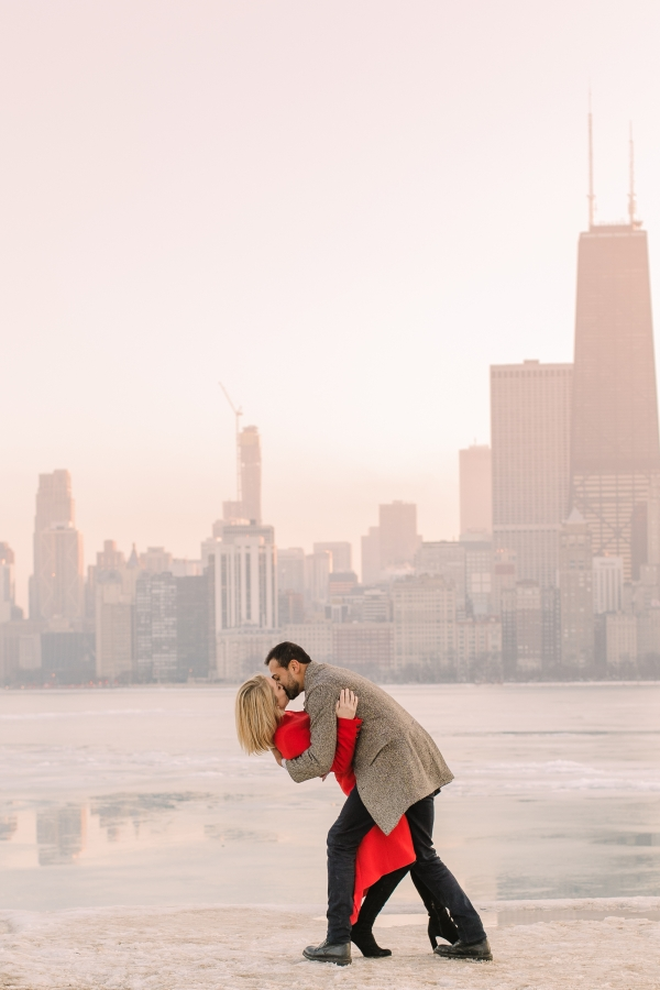 Winter Chicago Skyline Engagement Session Artistrie Co (45)