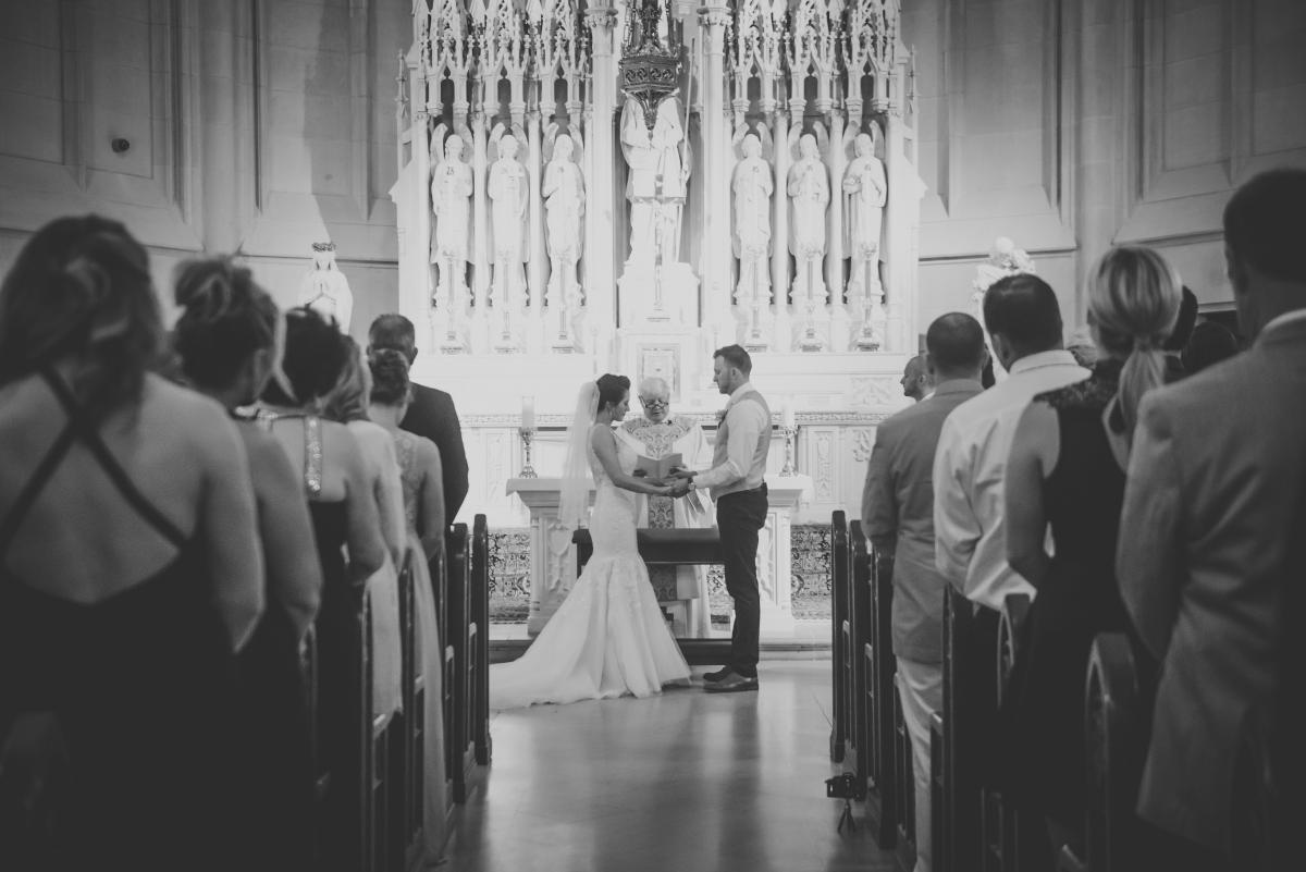 Chicago Wedding Ceremony Ginda Photography