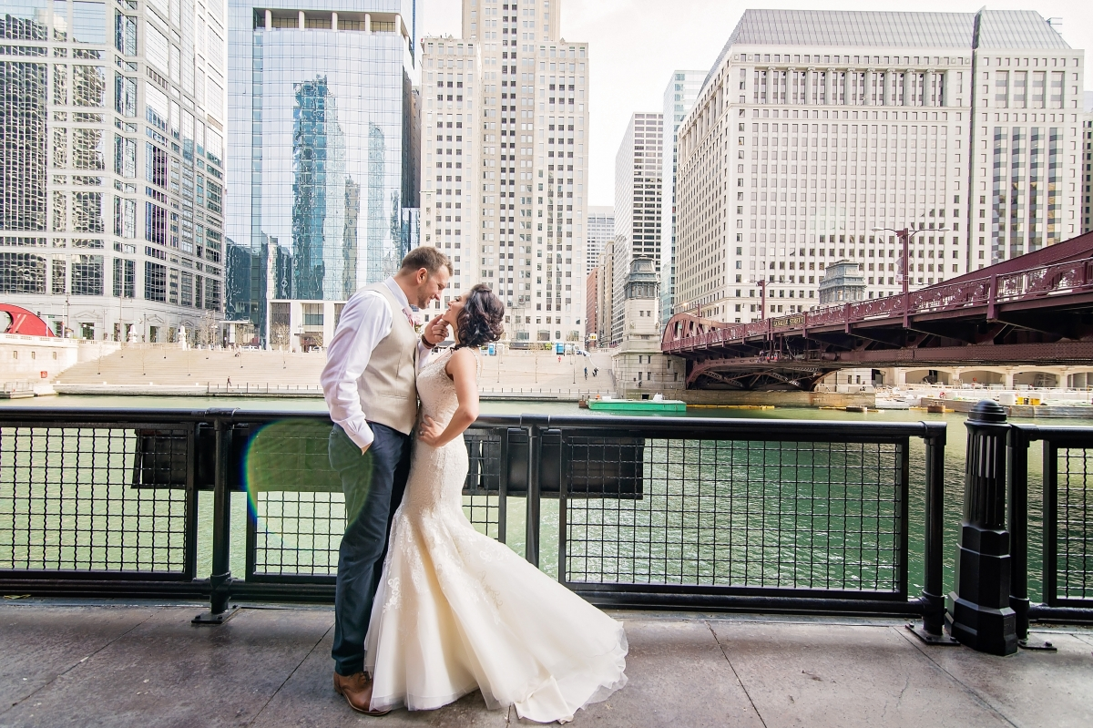 Chicago Wedding at Gallery 1028