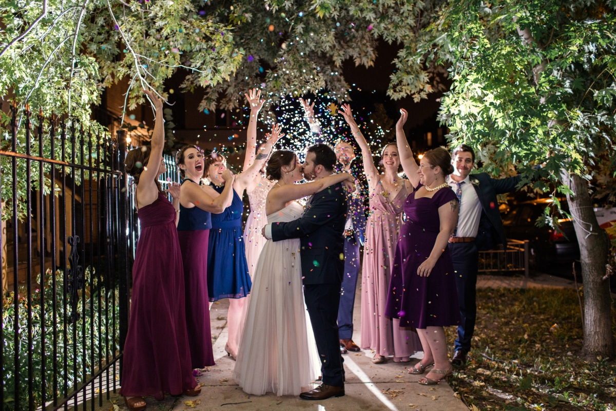 Chicago Wedding at The Joinery