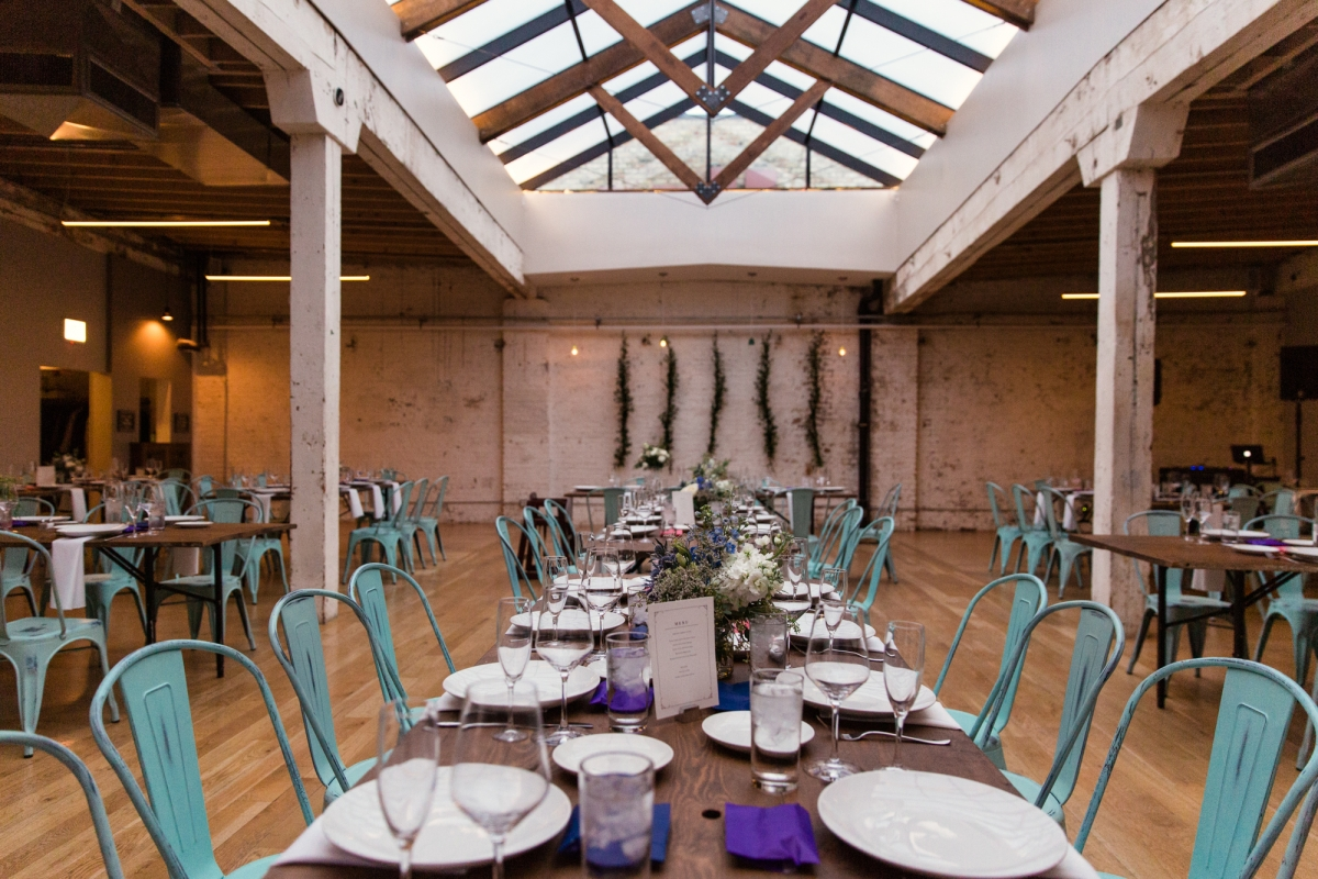 Wedding Reception at The Joinery Chicago