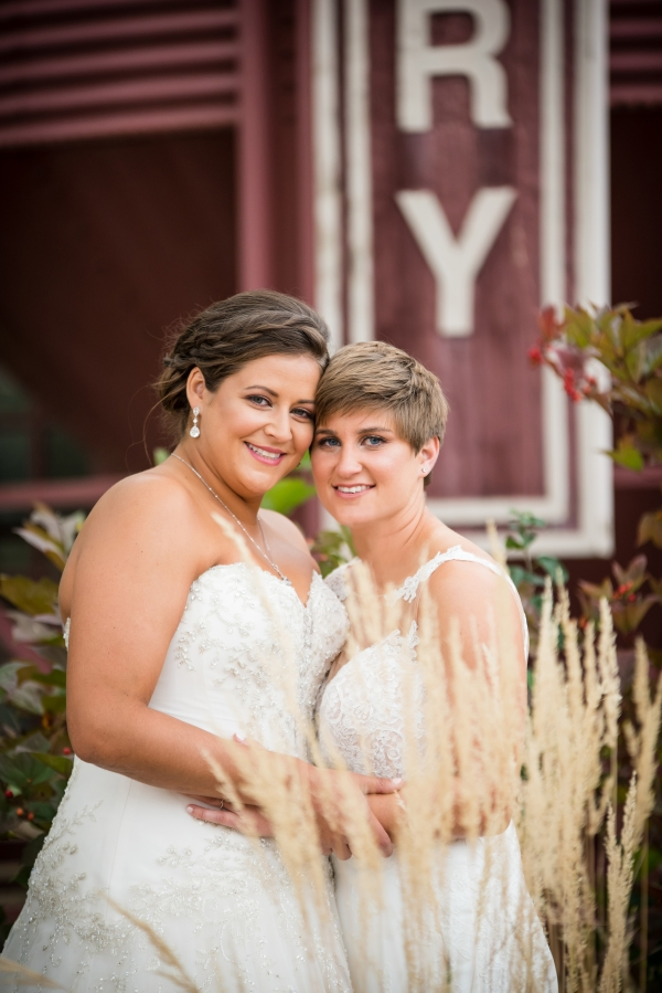 Chicago Lesbian Wedding at the Roundhouse (10)