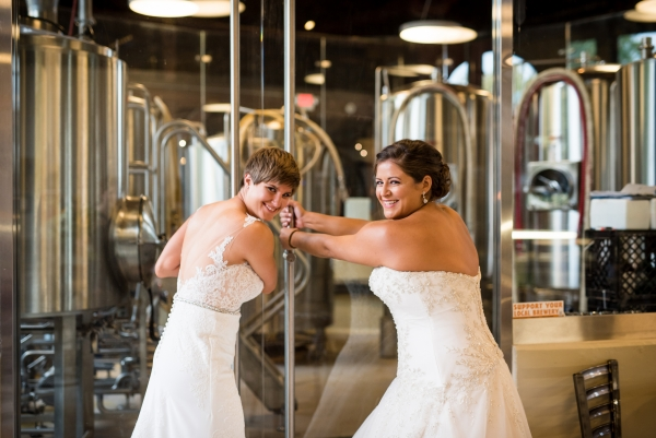 Chicago Lesbian Wedding at the Roundhouse (12)