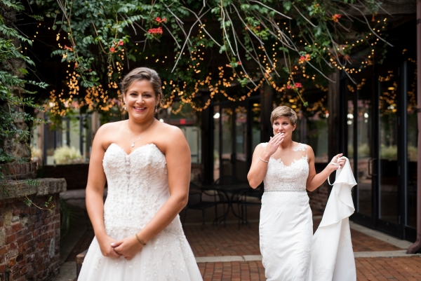 Chicago Lesbian Wedding at the Roundhouse (2)
