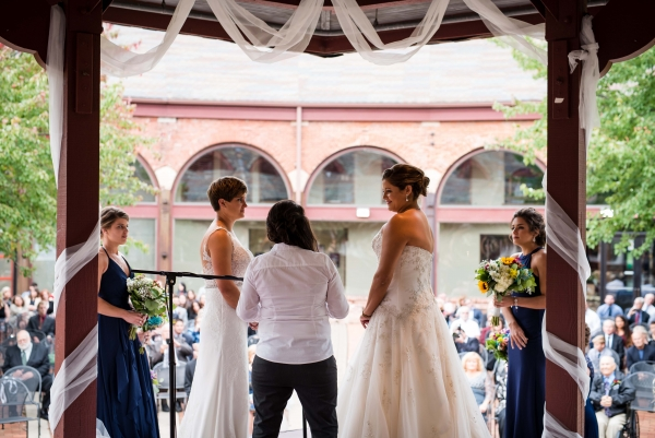 Chicago Lesbian Wedding at the Roundhouse (25)
