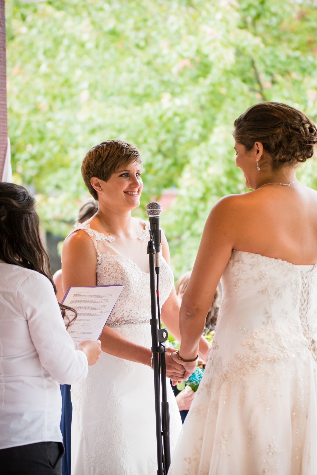 Chicago Lesbian Wedding at the Roundhouse 26