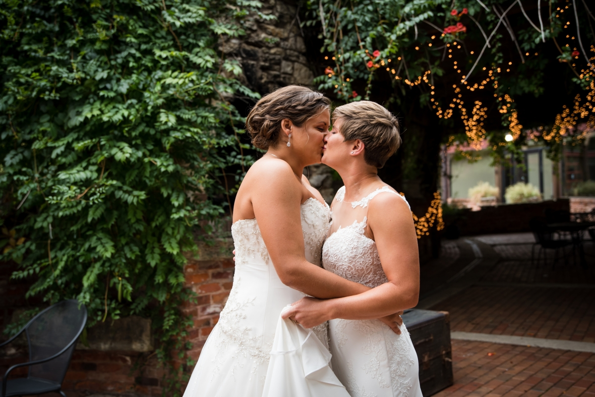 Chicago Lesbian Wedding at the Roundhouse 3