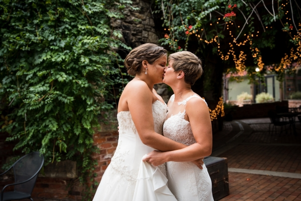 Chicago Lesbian Wedding at the Roundhouse (3)