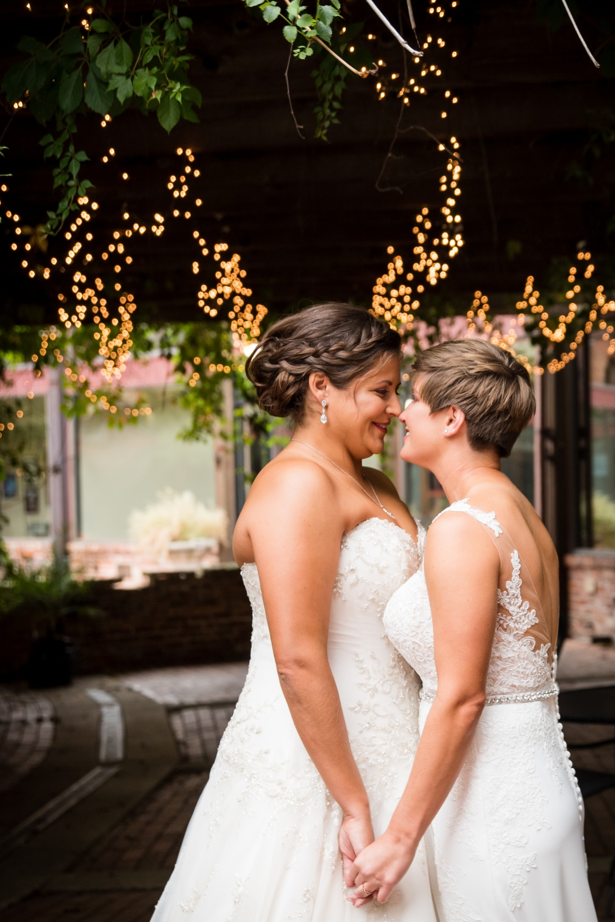 Chicago Lesbian Wedding at the Roundhouse 4