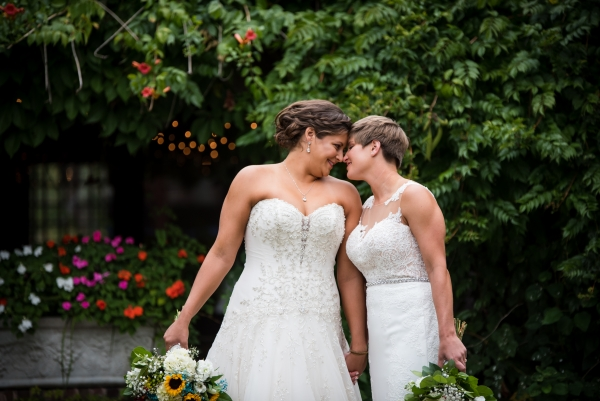 Chicago Lesbian Wedding at the Roundhouse (8)