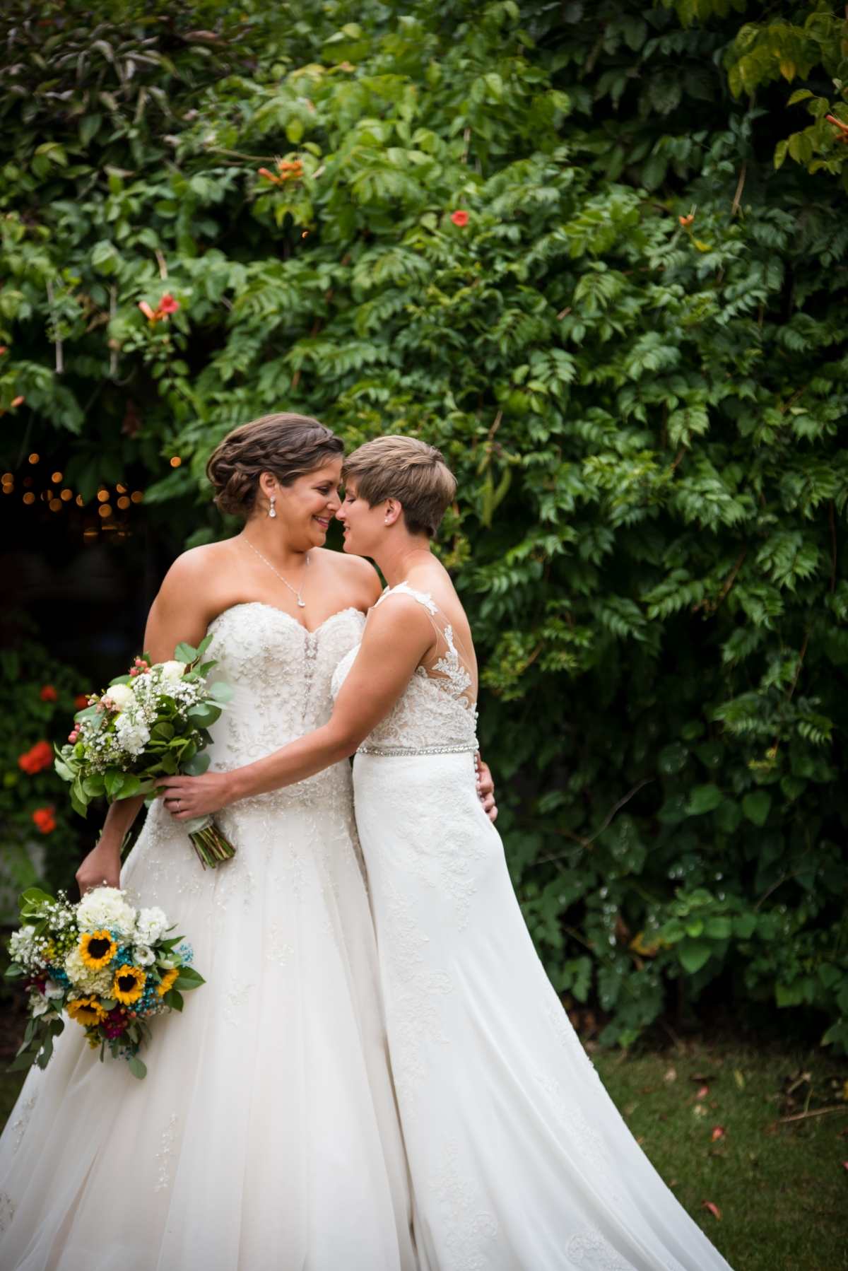 Chicago Lesbian Wedding at the Roundhouse 9