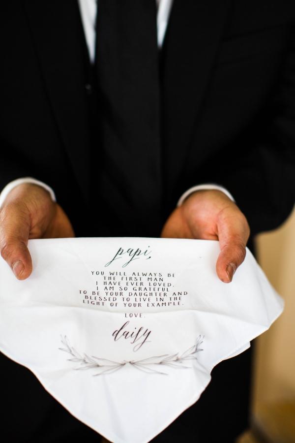 Wedding Handkerchief Gift