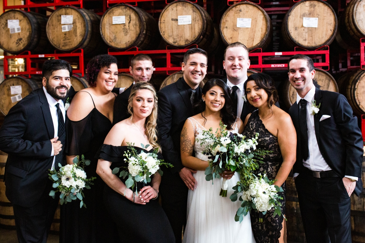 Revolution Brewing Chicago Wedding Ebby L Photography