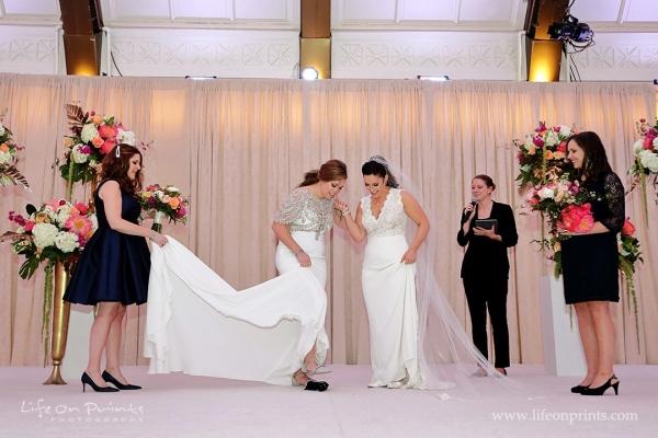 Wedicity LBGTQ Wedding at the JW Marriott Chicago